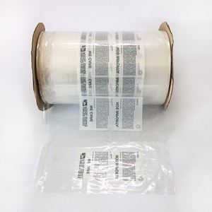 Poly Printed Auto bags Pre-Opened On Roll For Machine Packaging