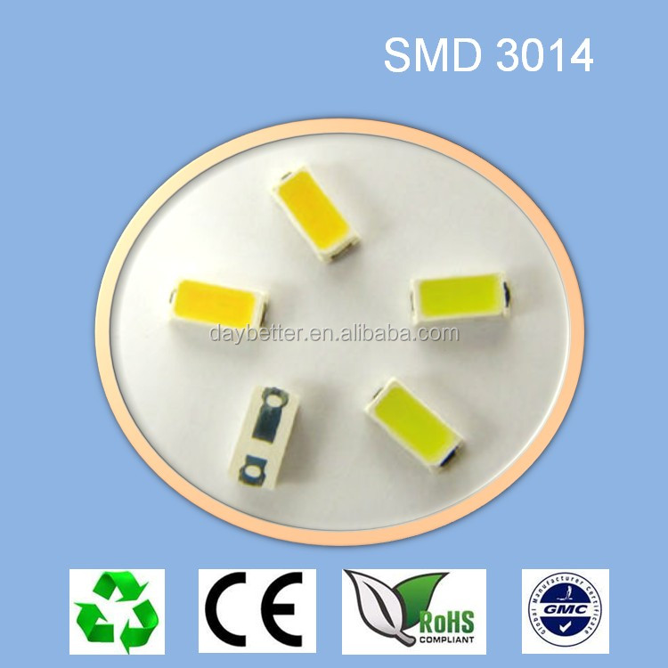 shenzhen factory smd led 3014 warm white 0.1w made in china