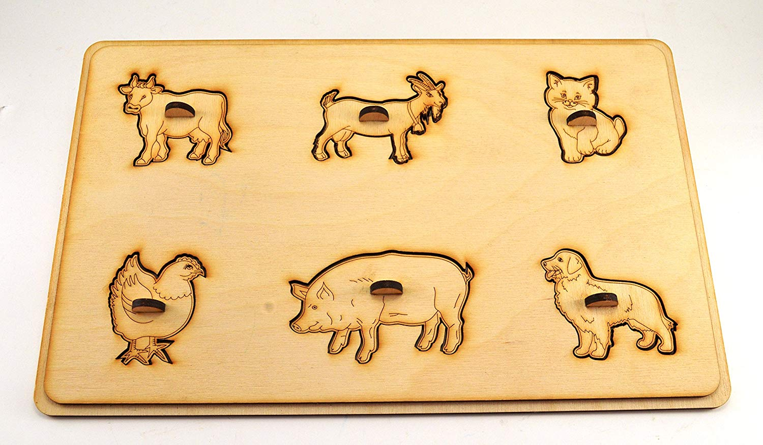 Pets puzzle Wooden puzzle Montessori toys Wooden animal gift Educational toys Animal puzzle Toy for autism Baby gifts Gift 1st