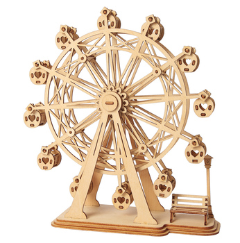 Robotime 3D wooden puzzle craft handmade craft gift TG401 Ferris Wheel model