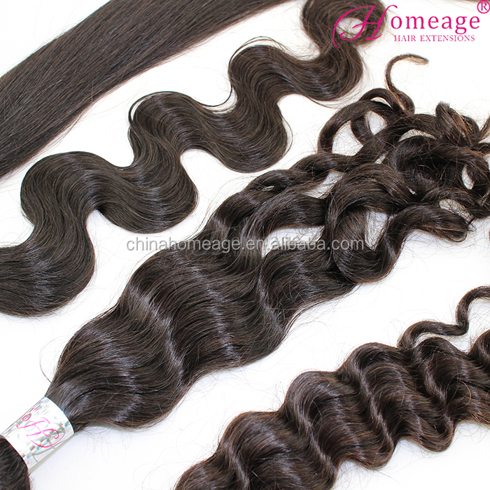 Homeage Wholesale Best Selling Hair Weave Hair Extensions Brazilian