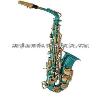 Green Alto Saxophone/colorful Alto Saxofone - Buy Colorful ...