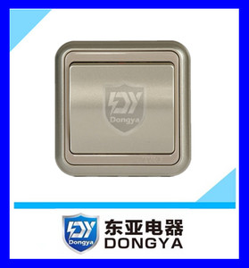 MK wall switch one gang way CE approved wall switch