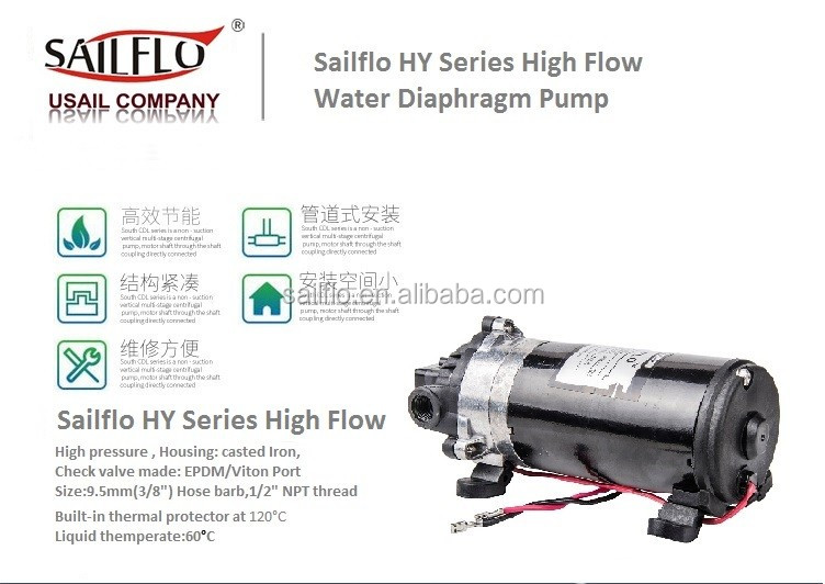 Sailflo 12v dc 35psi electric water pump price water pump for Water motor pump price