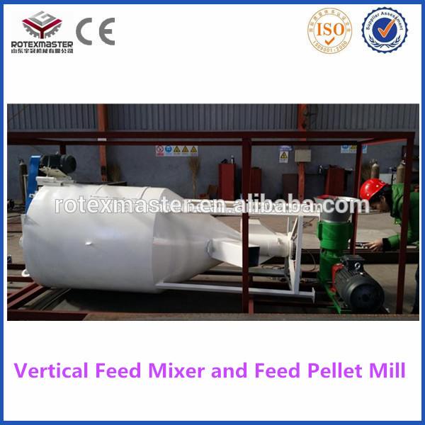 Energy-saving Vertical Grain Feed Mixer for sale