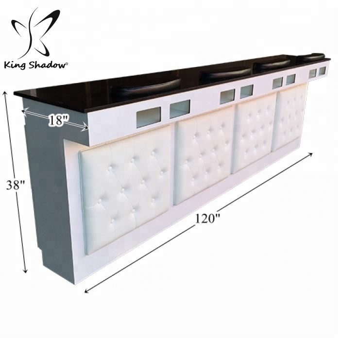 Alibaba.com / 30% cheap  nail furniture Glass manicure table  nail stations for sale