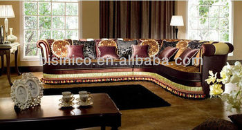 Noble Middle East Style Fabric Corner Sofa,Antique Living Room  Furniture,Comfortable Living Room Corner Sofa Set - Buy Corner Units Living  Room ...