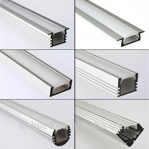 Perfil de aluminio curvado para techo o colgante para tira for Perfiles de aluminio para toldos de palilleria