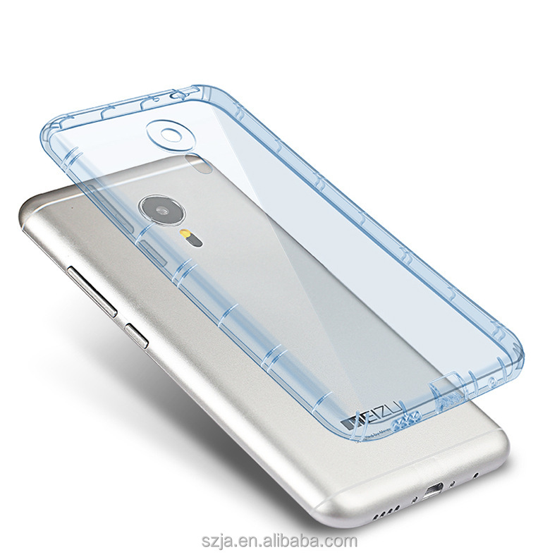 Camera protection Protrusion TPU Case for mx5 Phone Back Cover Soft Clear Cover Case for MEIZU MX5