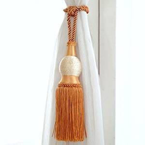 Get Quotations Curtains Tether Drape Tassels Exquisite Tying Curtain Hanging Ball Buckle