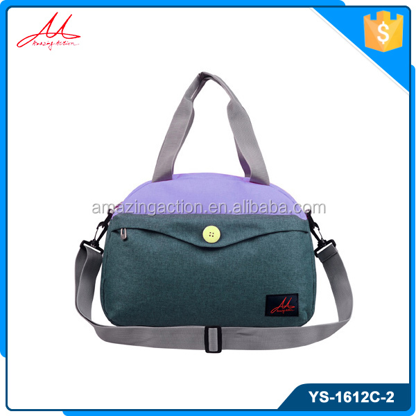 Wholesale latest small 600d 2 colors daily leisure durable best travel bag