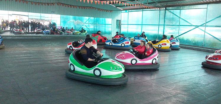 Pretpark Rit Batterij Operated Kids Bumper auto's te koop