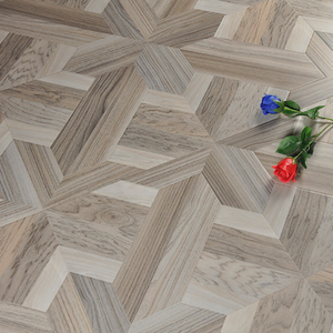 Updating Industrial Real Wood Parquet Flooring