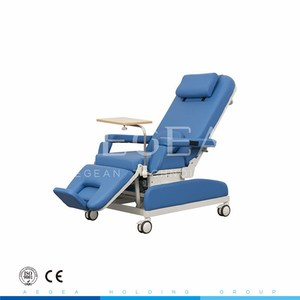 AG-XD205 manual mechanical control reclining hospital patient blood dialysis chair