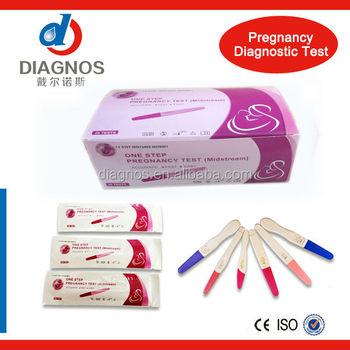 vente oem service pas cher hcg test de grossesse kit d urine hcg rapide test midstream buy