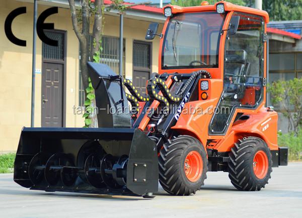traktor radlader mit schneefr se china mini frontlader. Black Bedroom Furniture Sets. Home Design Ideas