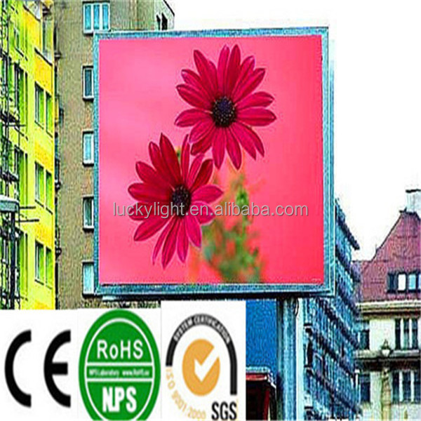 hot saling high performance energy efficient high quality p12 DIP 1/4 scan 16*16 outdoor led display panel