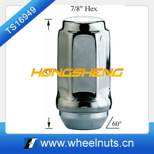 wheel car lugnut stainless cap lugnut