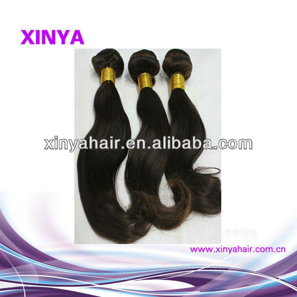 Sell well top quality delightful body wave peruvian weaving hair