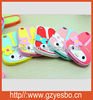 Factory phone case , cute Baby 3D rabbit pattern silicon case for iphone 4G 4S