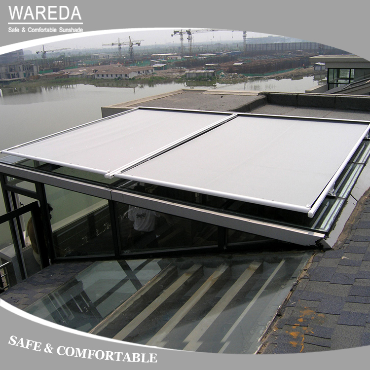 Waterproof Motorized Pergola Roof Conservatory Awning