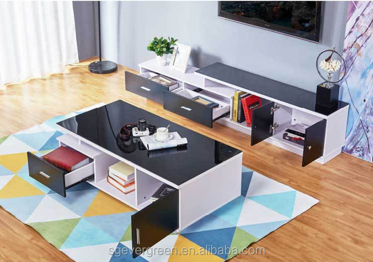 best selling modern design living room wooden coffee table