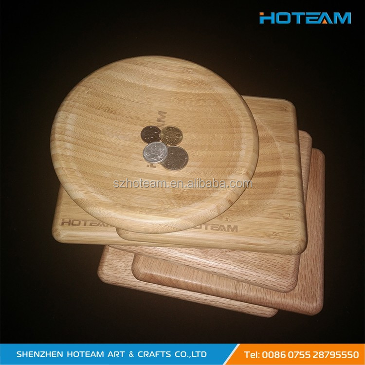 Solid Wood Customized High Quality Tip Tray Exchange Tray
