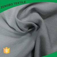 100% cotton white pique jersey fabric roll wholesale with factory price