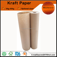 300mm width car auto painting masking kraft paper in roll