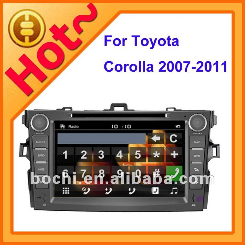 Car DVD GPS Vedio player for <strong>Toyota</strong> <strong>Corolla</strong> 2007-2011
