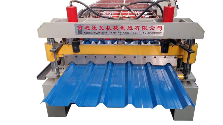 color steel galvanized metal aluminum glazed trapezoidal corrugated roofing sheet roof tile wall panel roll forming machine