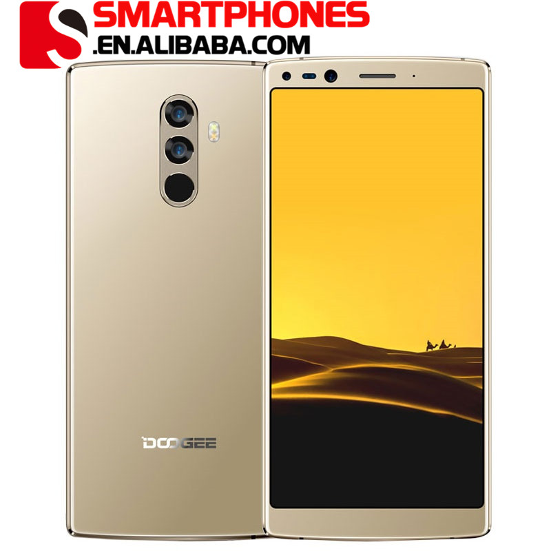 DOOGEE MIX 2 Android 7 phone unlocked 6.0'' FHD+ 18:9 full 6GB RAM 64GB Camera Smart Mobile phone DOOGEE MIX 2