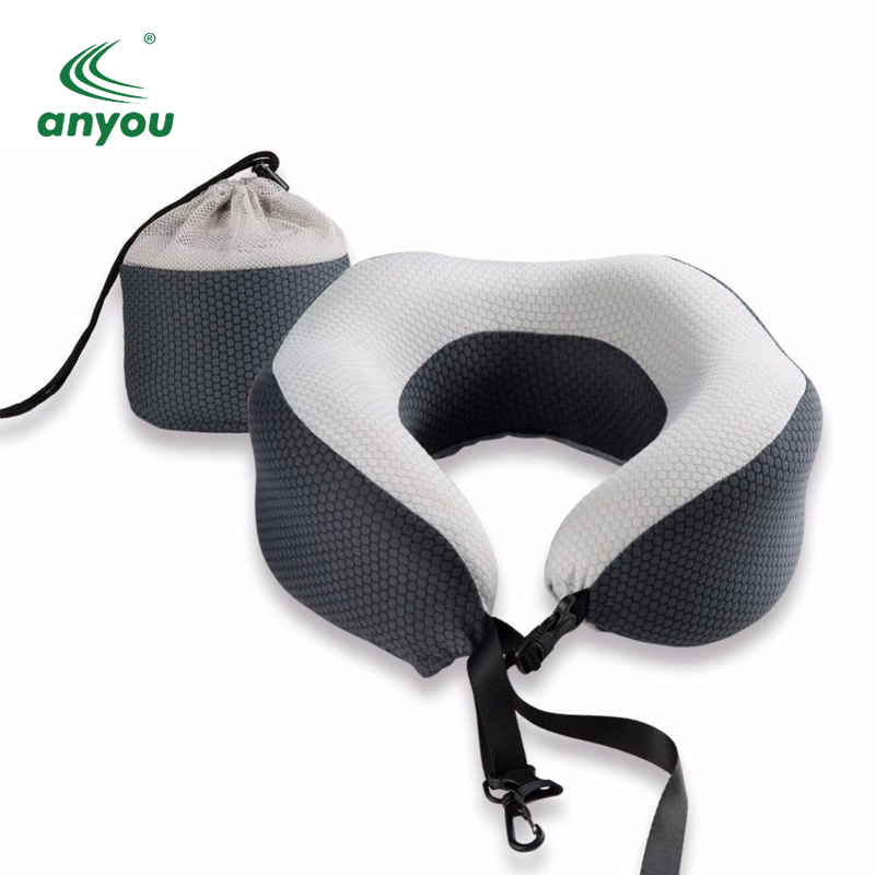 polystyrene beads sublimated custom travel neck pillow