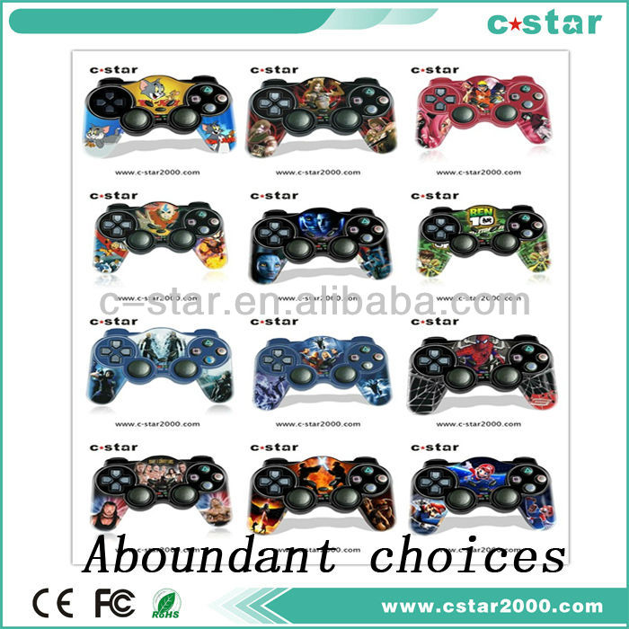 Wireless game controller with liquid joypad gamepad electronic game controllers