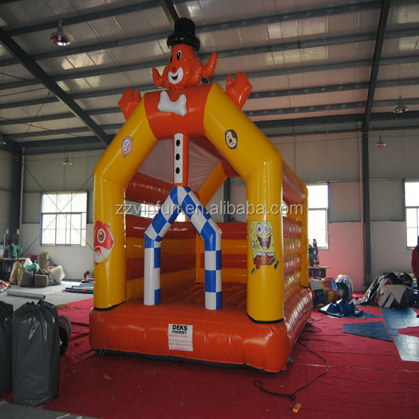 Creative Cartoon Style cheap used commercial grade inflatable bouncer