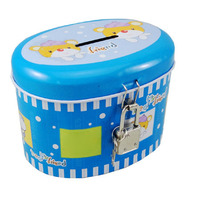 New Design Tin Can Piggy Bank Oval Tin Box
