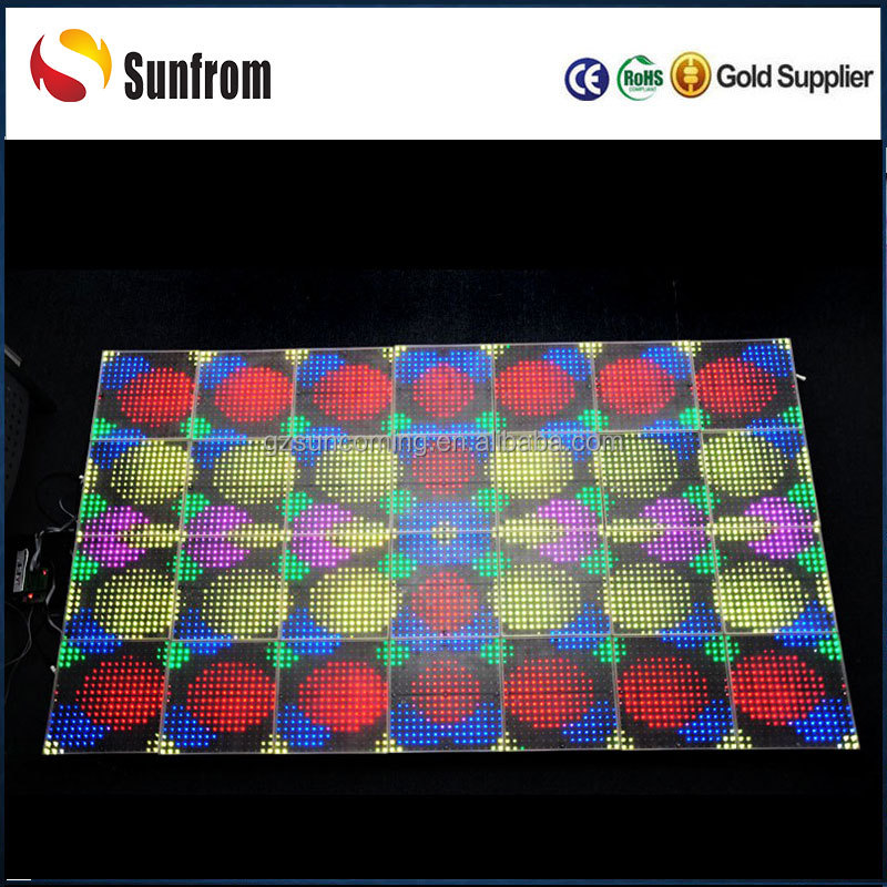 Professional manufacturer portable led dance floor guangzhou
