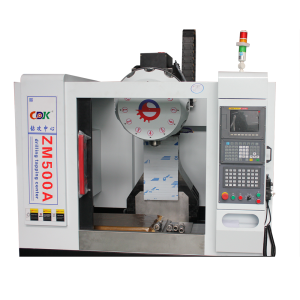 Fast speed high precision cnc vertical drilling tapping milling machine center 12 axis optional ZM-500A