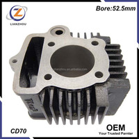 Motorcycle Engine Spare Parts CD70 Cylinder Block