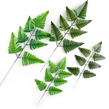 Fashion design wedding artificial decorative leaves