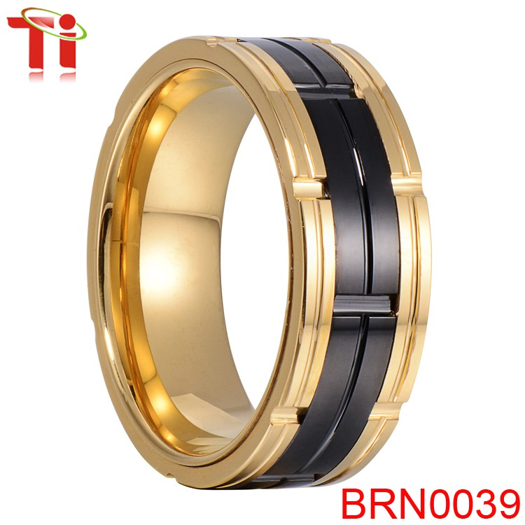 2016 Men\'s Luxury Hot Sale Design Ring,Smart Ring,Gold Tungsten ...