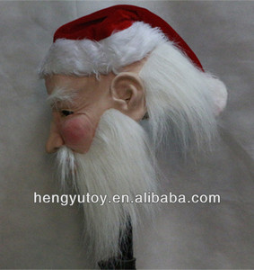 The Newest 2014 Deluxe Quality Latex Santa Claus Face Mask For Christmas Festival