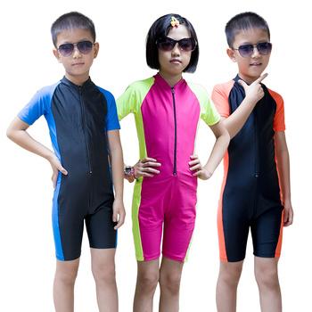 UPF50 + Lycra de manga larga traje de niños traje de niño niña Surf traje  erupción 6bdb7cc9c1e