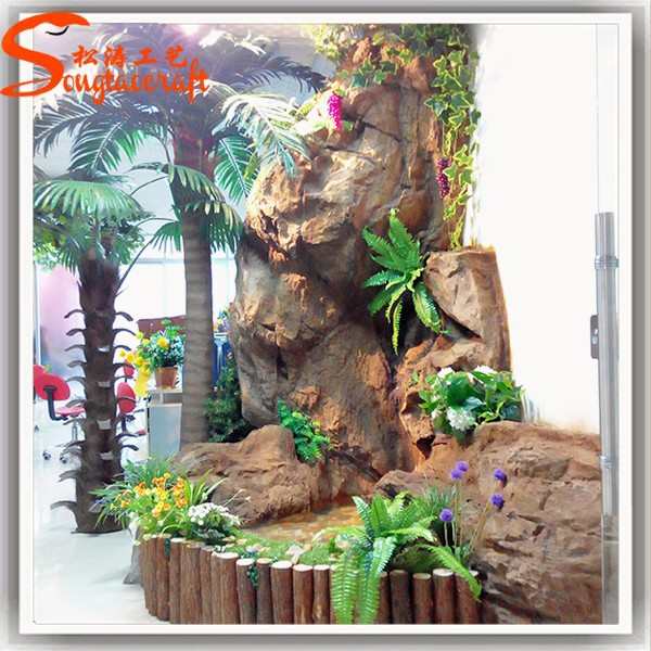 2017 Indoor Artificial Mini Water Waterfall Fountain Small Decorative With Pumps