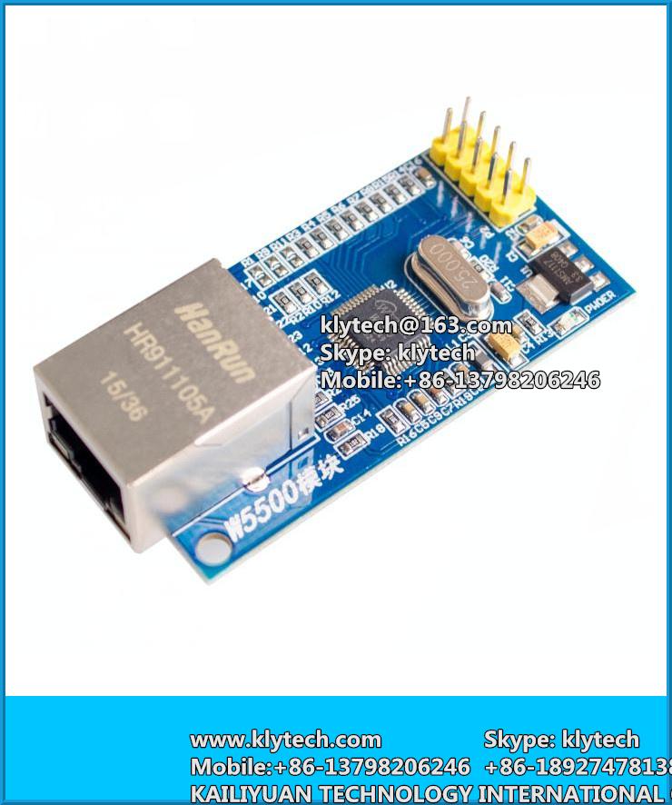 Free Shipping W5500 Ethernet Network Module Hardware Tcp / Ip 51 / Stm32  Microcontroller Program Over W5100 - Buy Cheap Board,Diy Modules,Module