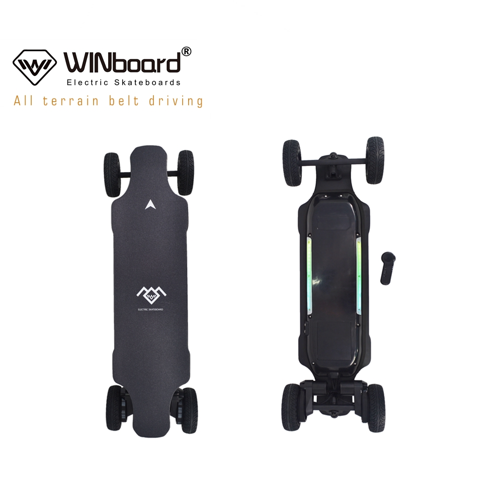 WINboard GTM PRO swappable wheels off road 8.6 kg the lightest off road all terrain electric skateboard