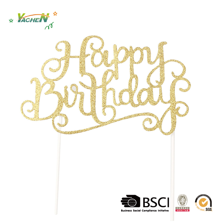 Hot sale Birthday party Cake banner