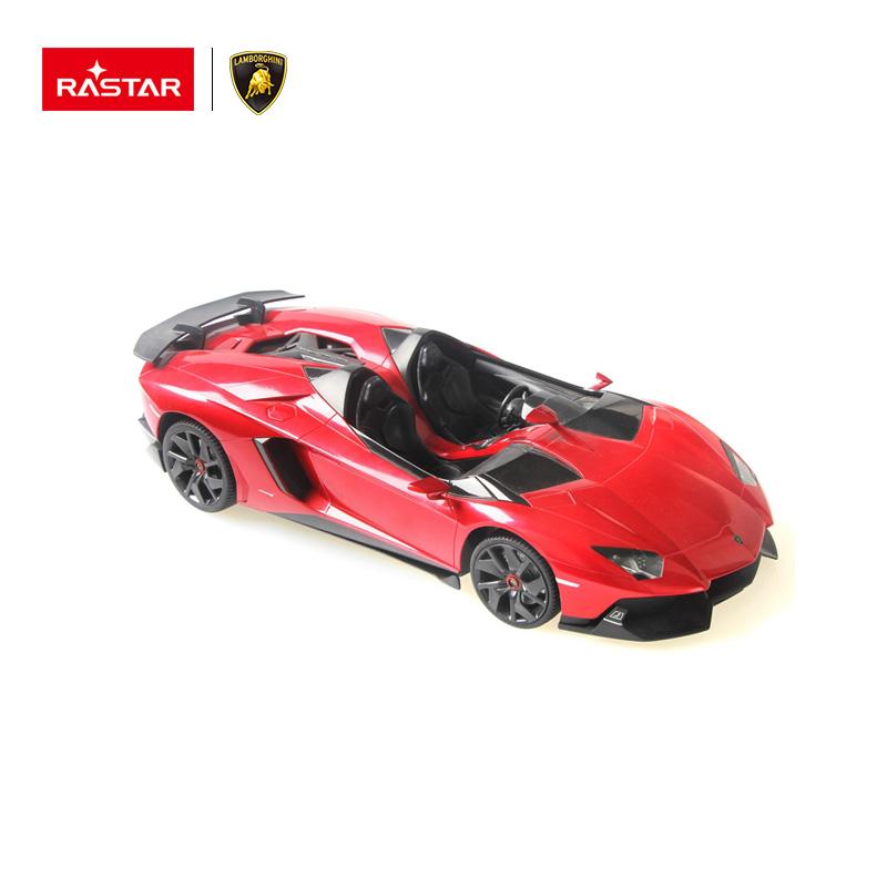 جودة عالية البلاستيكية الحمراء Rastar 112 Aventador النطاق تحكم