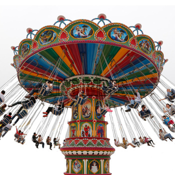 New Design and Cheap Amusement Park Equipment Rides Flying Chair