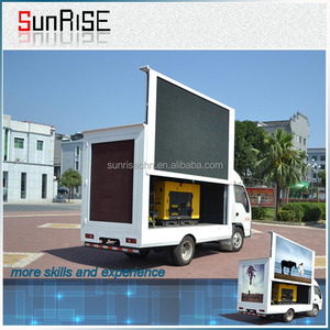 Widely usage for roadshow and band group stage truck led display/high definition p8 p10 truck mobile advertising led display